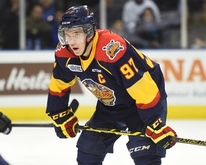 Connor McDavid of the Erie Otters. Photo by Aaron Bel/OHL Images